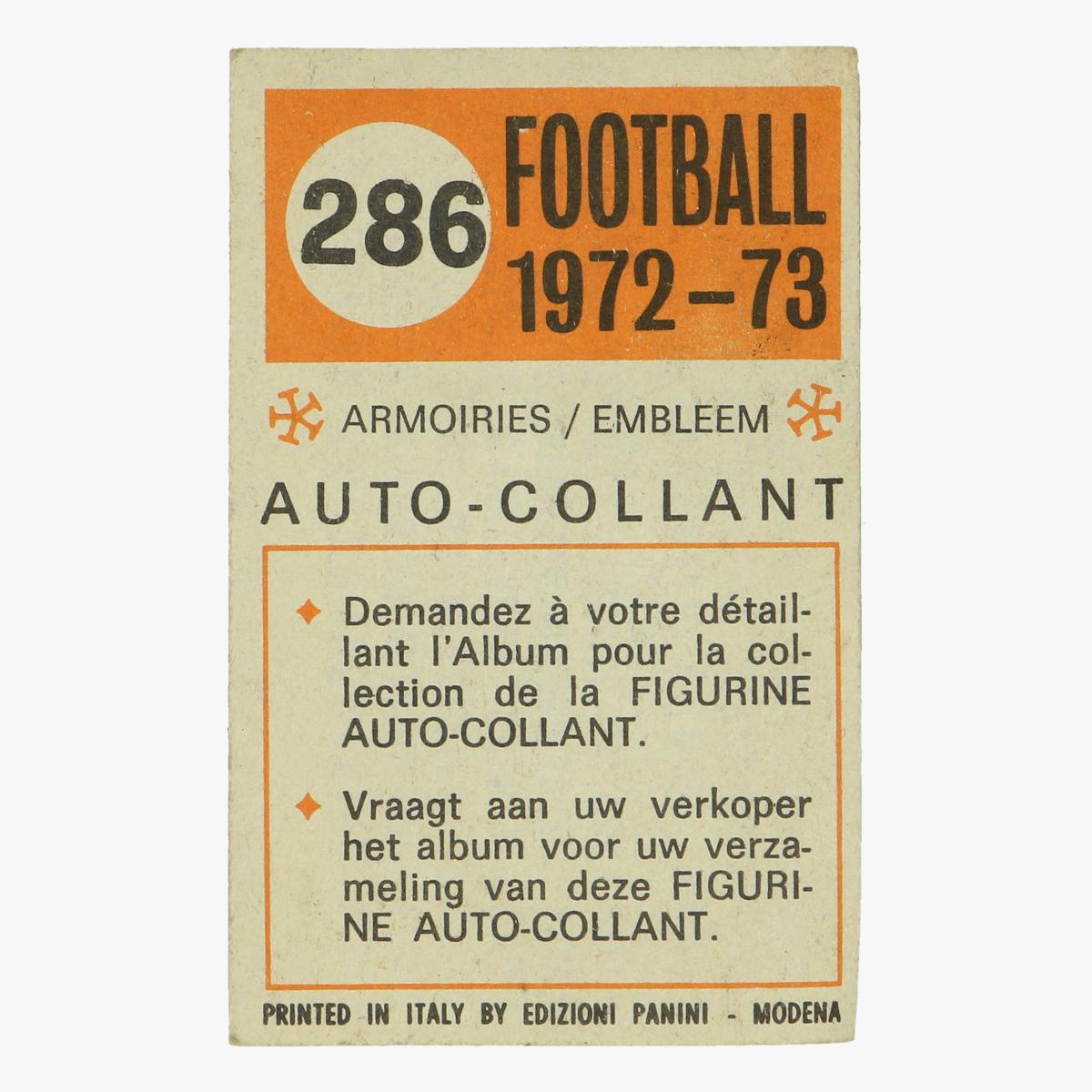 Afbeeldingen van ACM milan / italie football 1972/73 panini