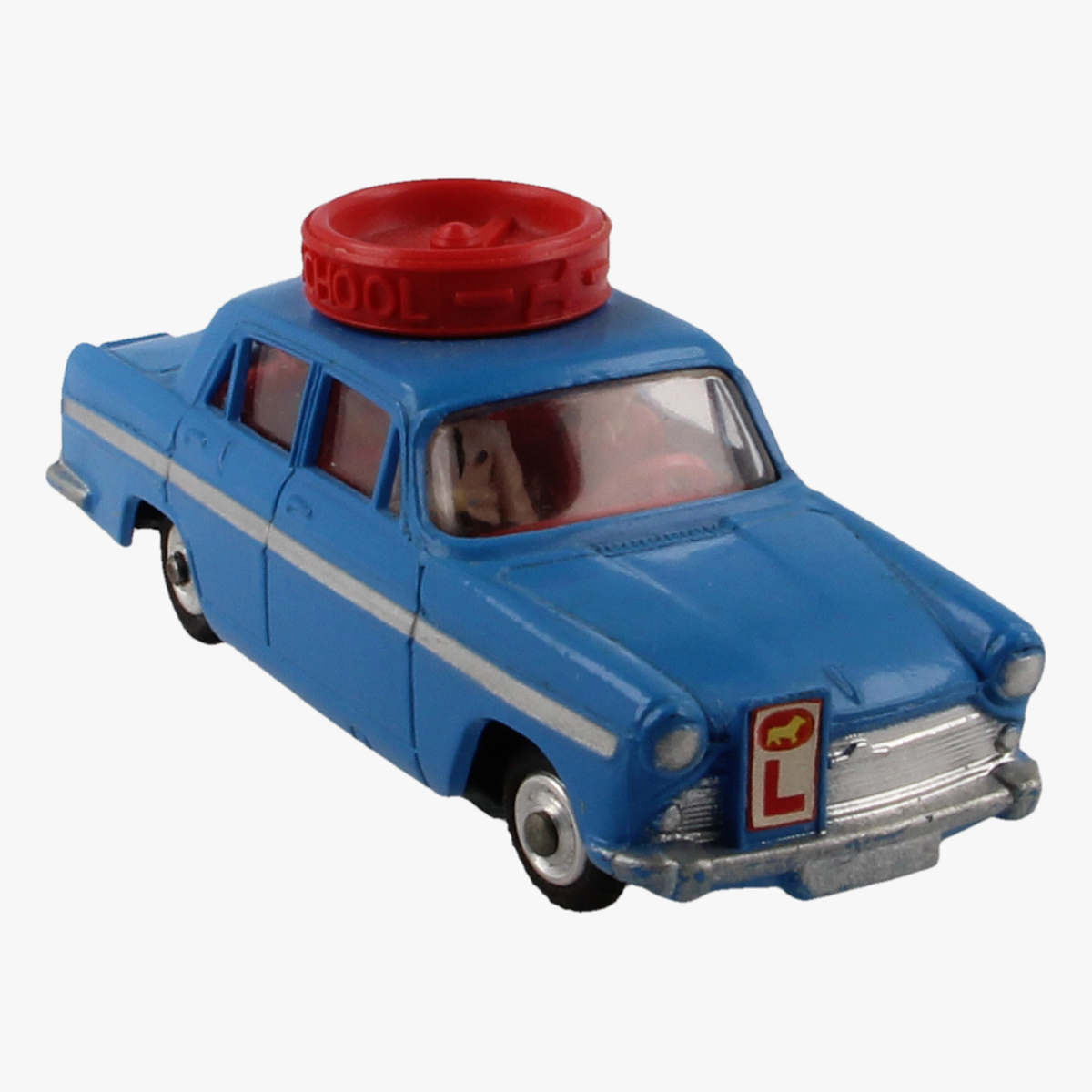 Afbeeldingen van Corgi Toys. Austin A60 De Luxe Saloon, Motor School Car 255