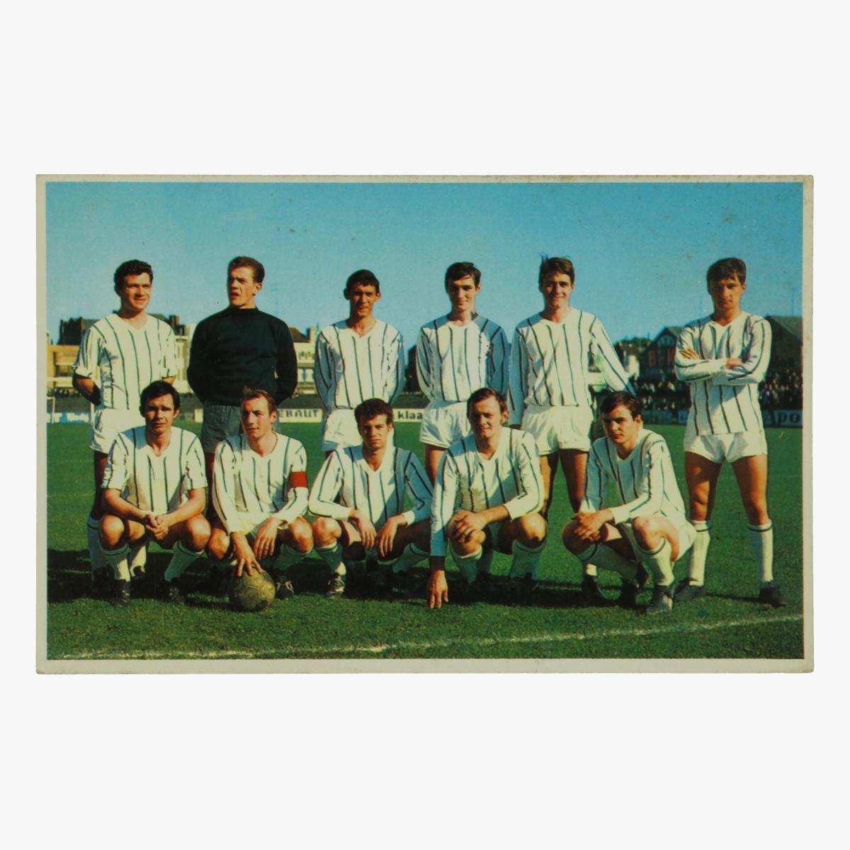 Afbeeldingen van oude postkaart voetbal verviers