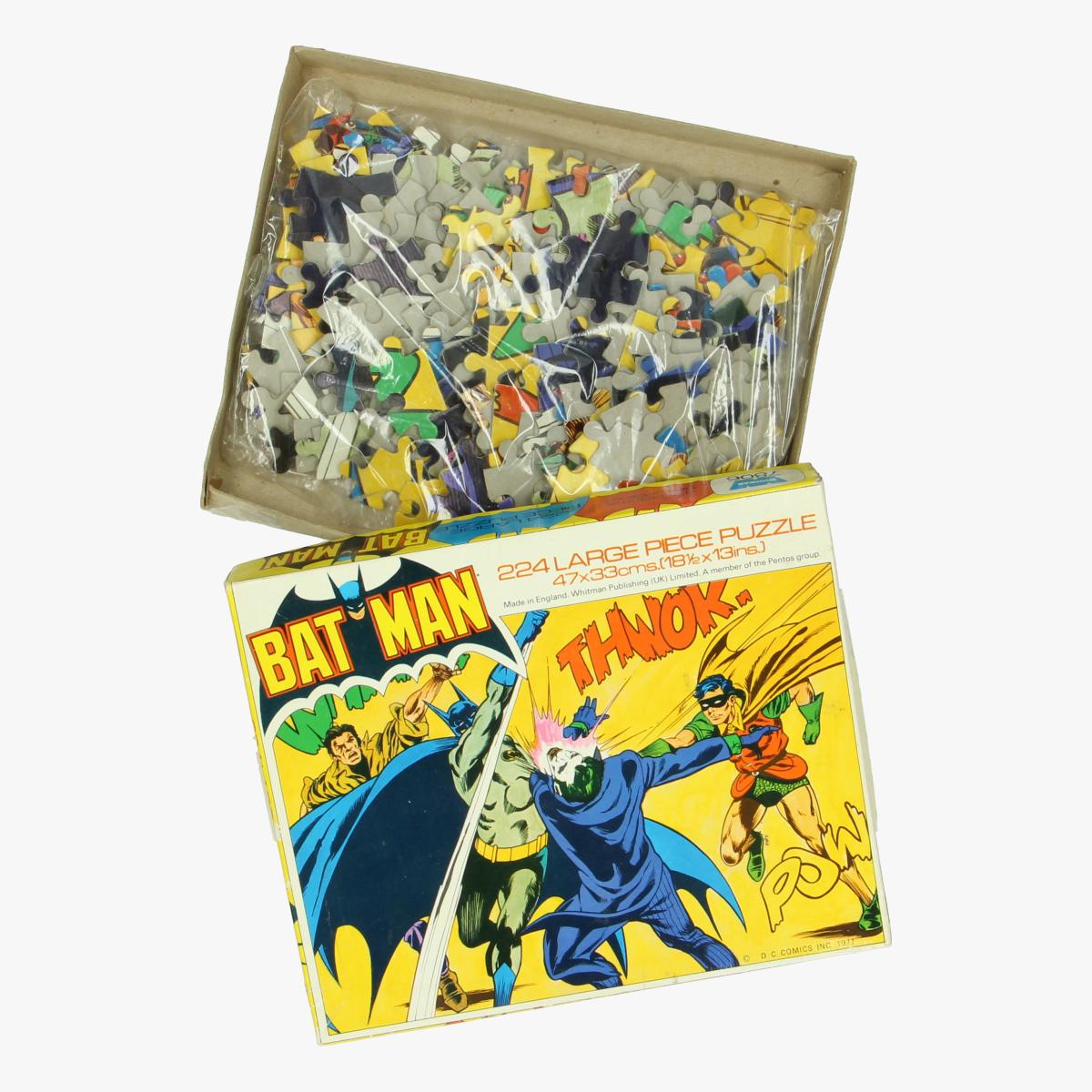 Afbeeldingen van Batman. Puzzel Whitman 7806