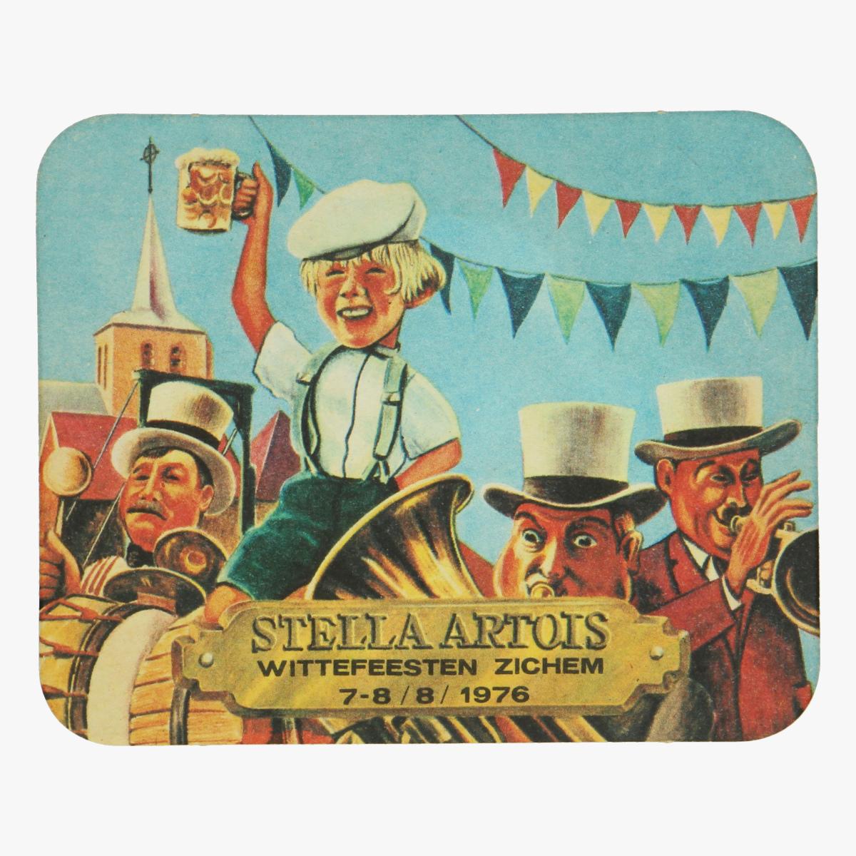 Afbeeldingen van Stella Artois Bierkaartje 1976