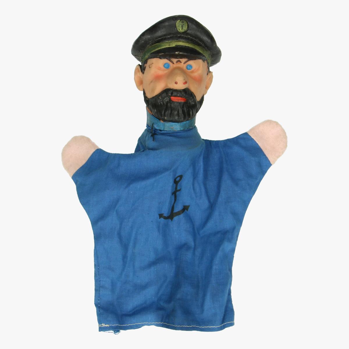 Afbeeldingen van Kapitein Haddock handpop