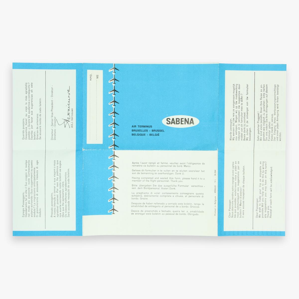 Afbeeldingen van sabena bxl gelieve dit formulier in te vullen en ete sluiten vooraleer het aan de bemanning te overhandigen. dank u