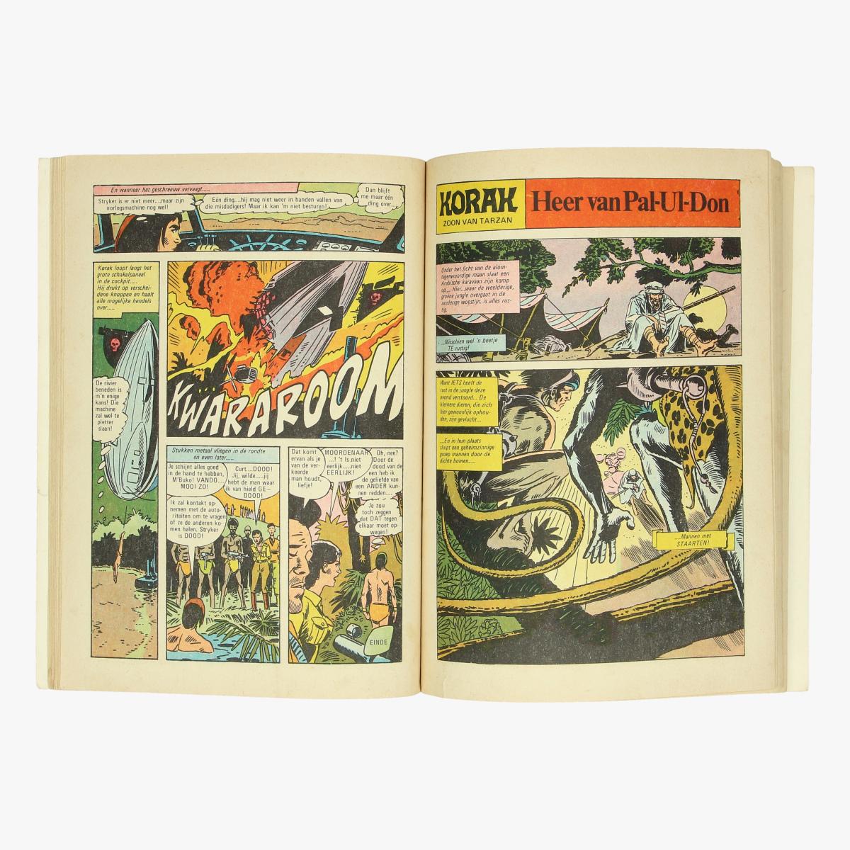 Afbeeldingen van strips korak zoon van tarzan : opar ,de stad des doods nr1