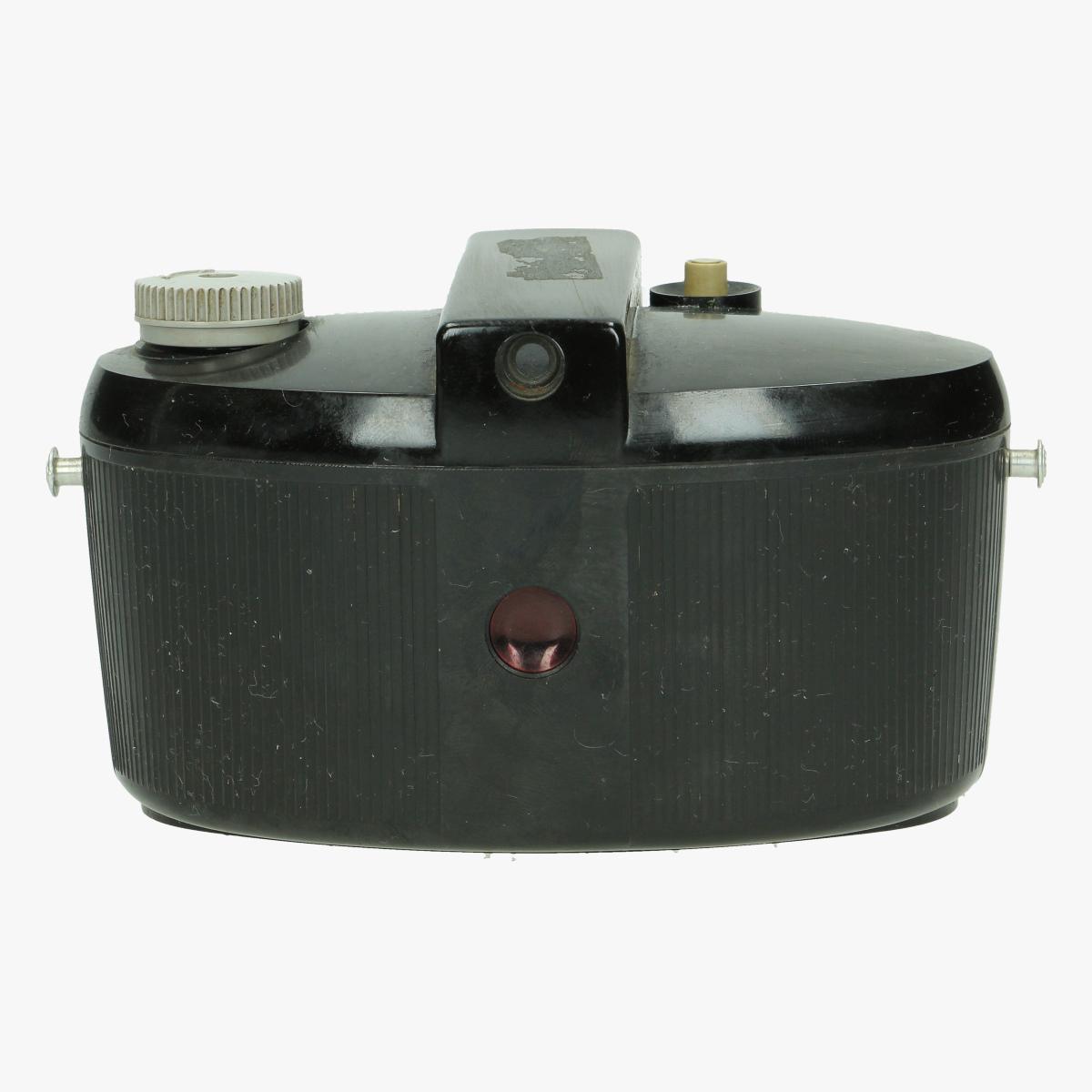 Afbeeldingen van bakelieten fotocamera kodak brownie 127 dakon lens