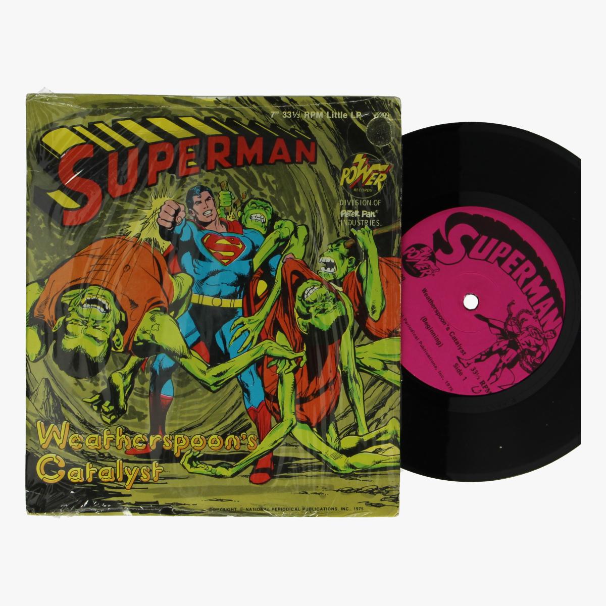 Afbeeldingen van Superman singel 1975