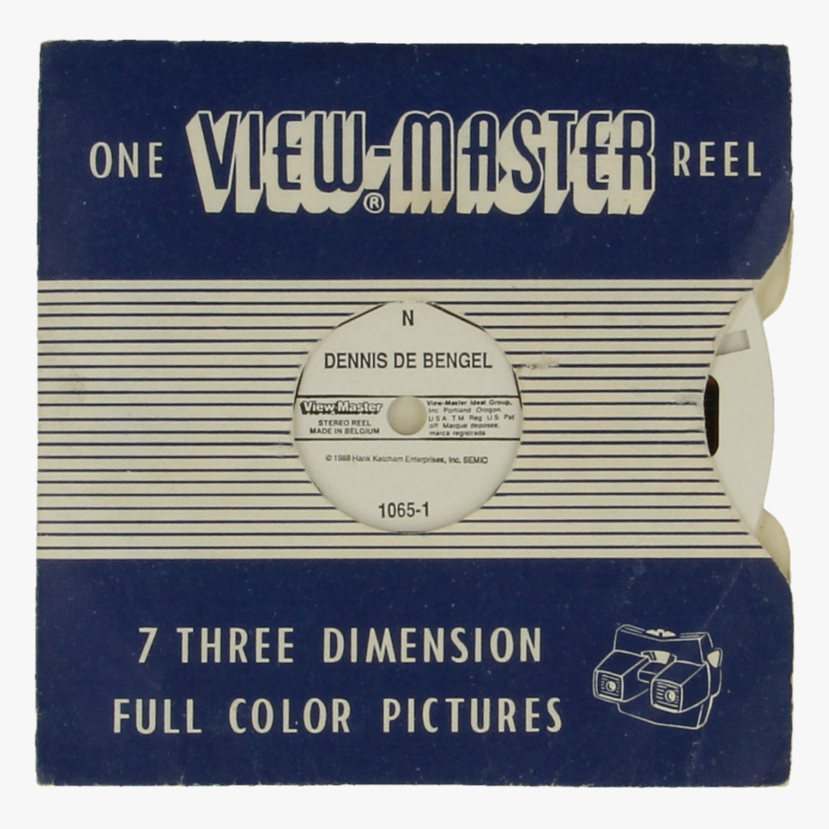 Afbeeldingen van View-master Dennis de bengel 1065-1 1065-2