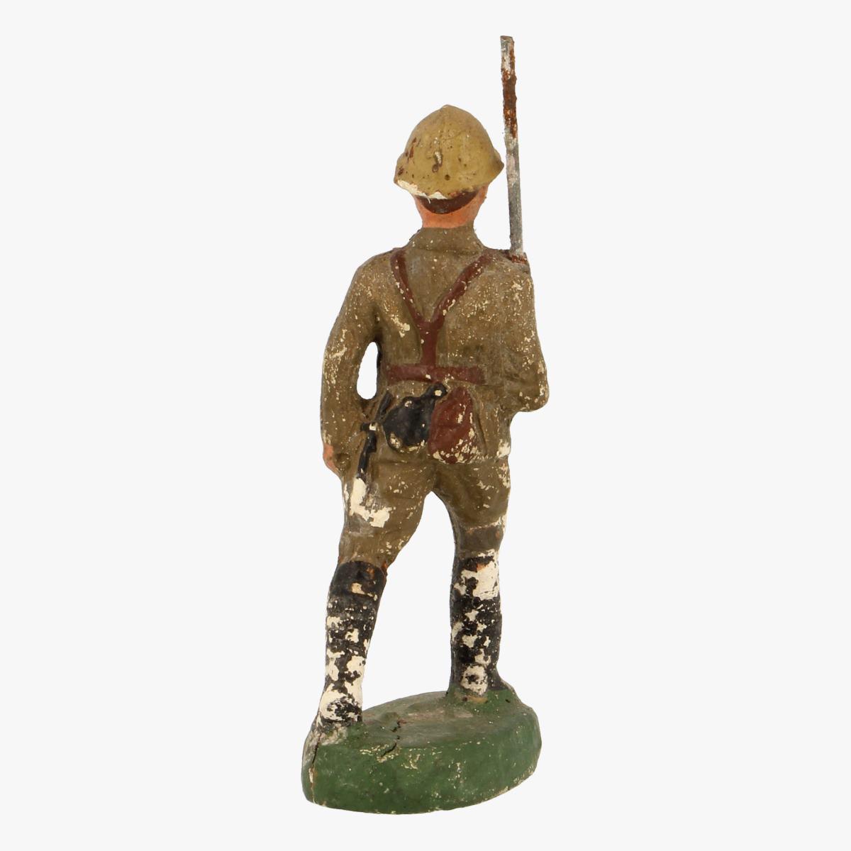 Afbeeldingen van elastolin soldaatjes fabrication belge