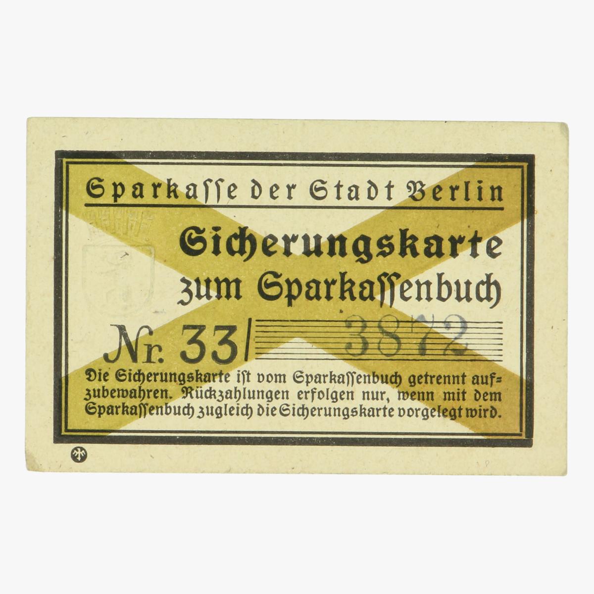 Afbeeldingen van Sicherungskarte Berlin