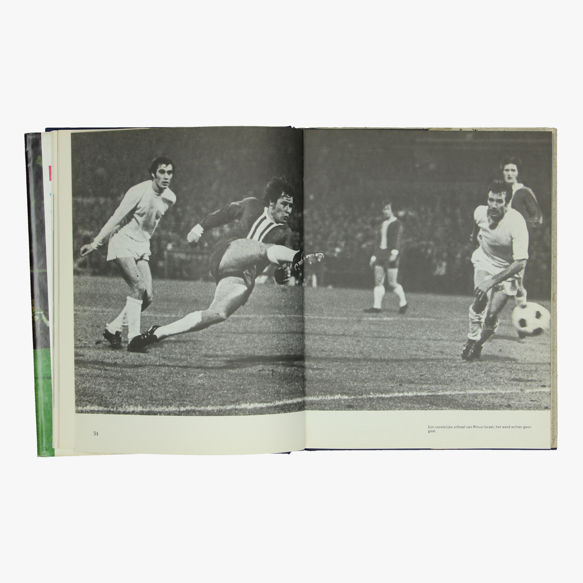 Afbeeldingen van voetbal boek europacup XVII herman kuiphof 1970/71 uitgeverij luitingh-laren n.h