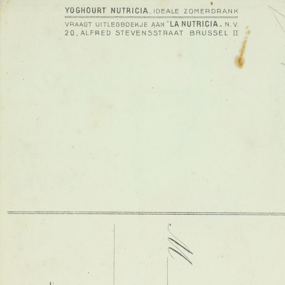 Afbeeldingen van Nutricia postkaart