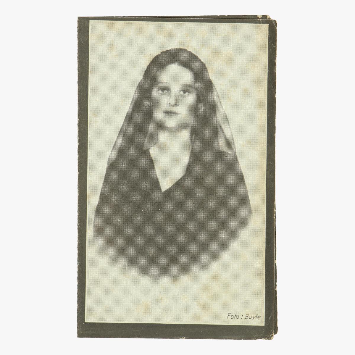 Afbeeldingen van doodsprentje koningin Astrid nederlandstalig