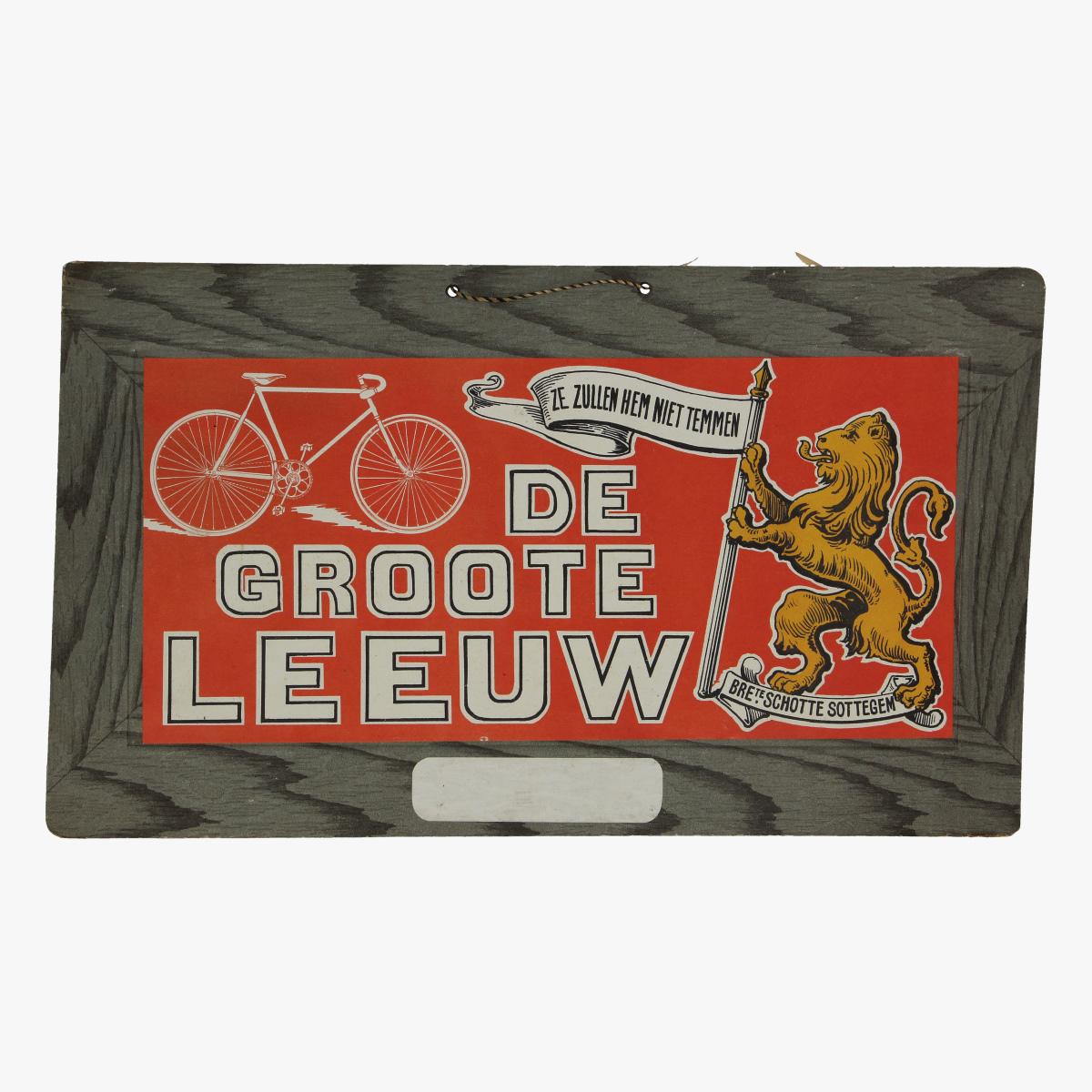 Afbeeldingen van pancarte fietsen DE GROOTE LEEUW  Zottegem wielrennen