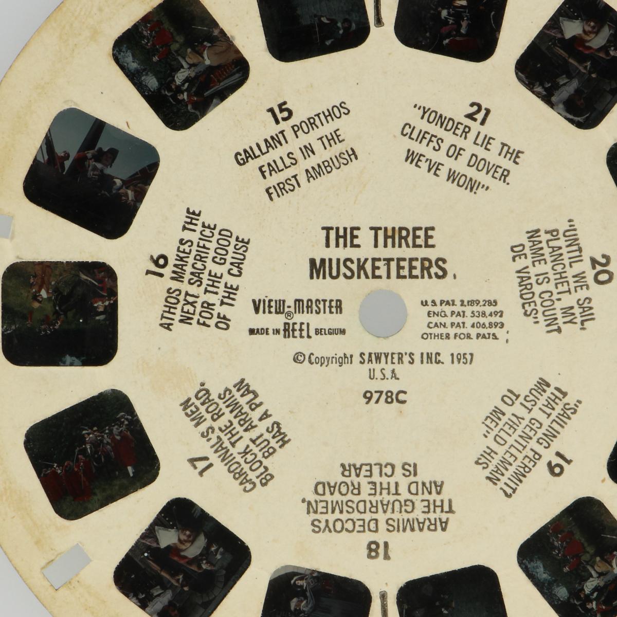 Afbeeldingen van View-master The three musketeers 978C
