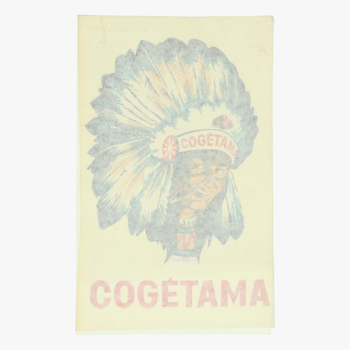 Afbeeldingen van oude sticker cogetama