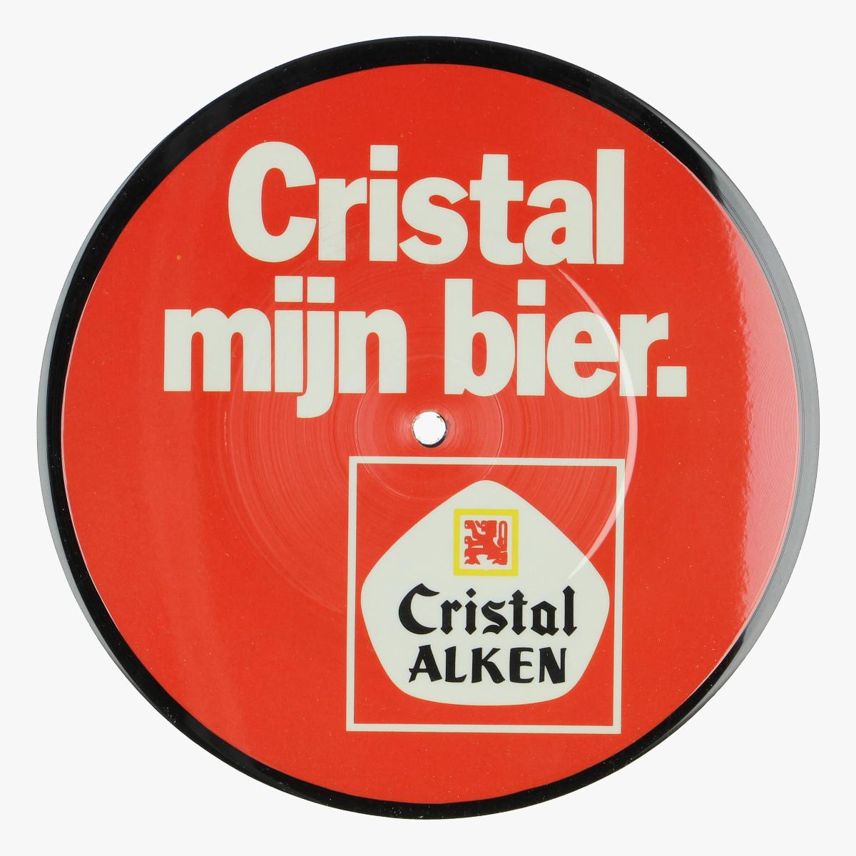 Afbeeldingen van muziek single Cristal Alken