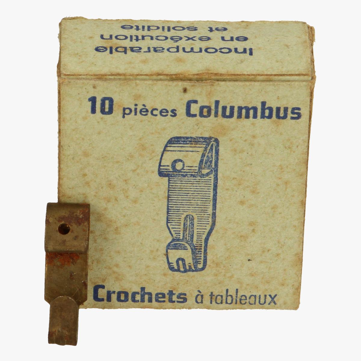 Afbeeldingen van doosje 10 st columbus crochets a tableaux