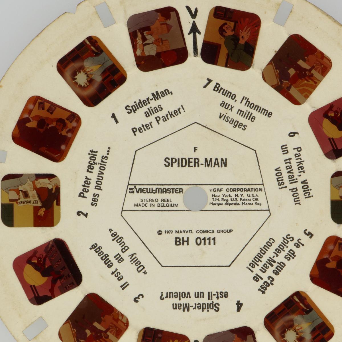 Afbeeldingen van View-master Spider-man BH 0111 BH 0112