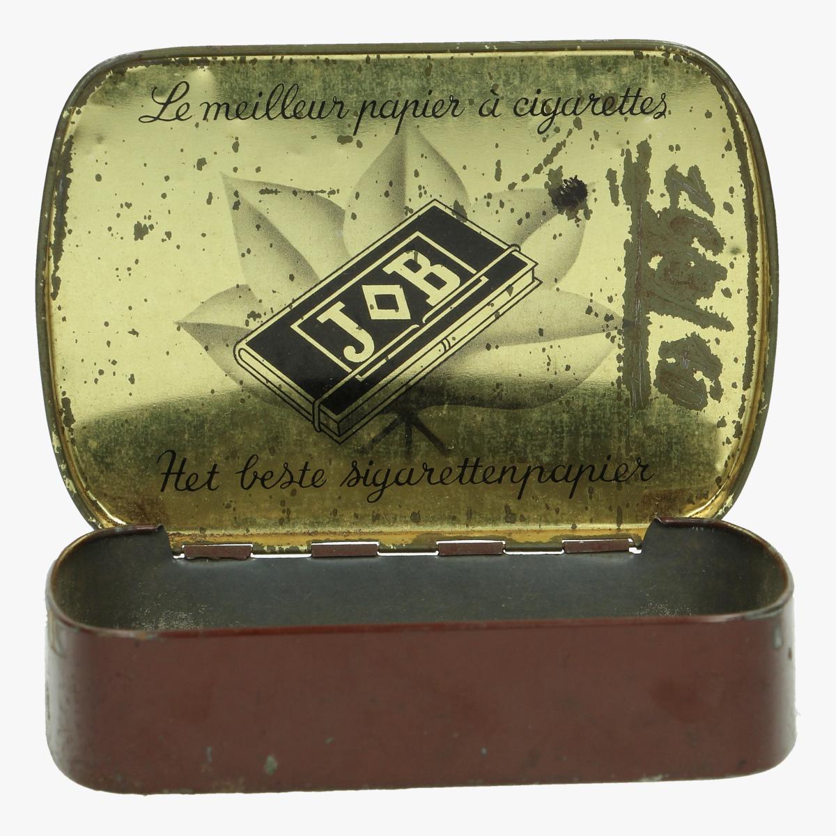Afbeeldingen van oude blikken doosje job het beste sigarettenpapier