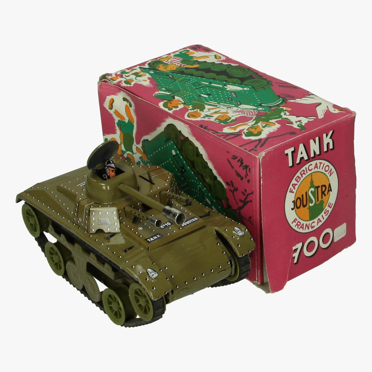 Afbeeldingen van Joustra Tank 700 blik