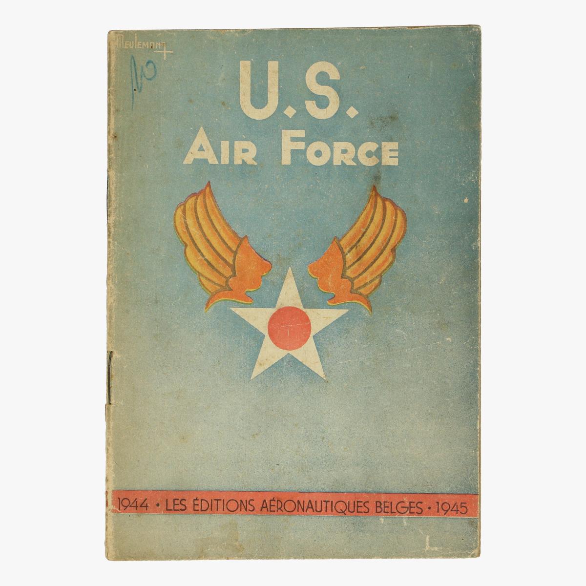 Afbeeldingen van u.s air force 1944. les editions aeronautiques belges.1945