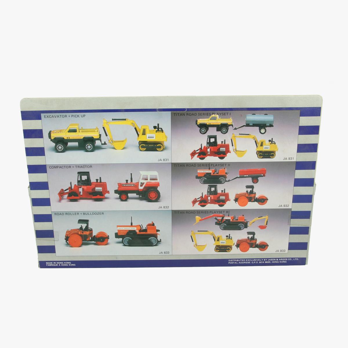 Afbeeldingen van Titan Road Series-Dual Set. Tractor.