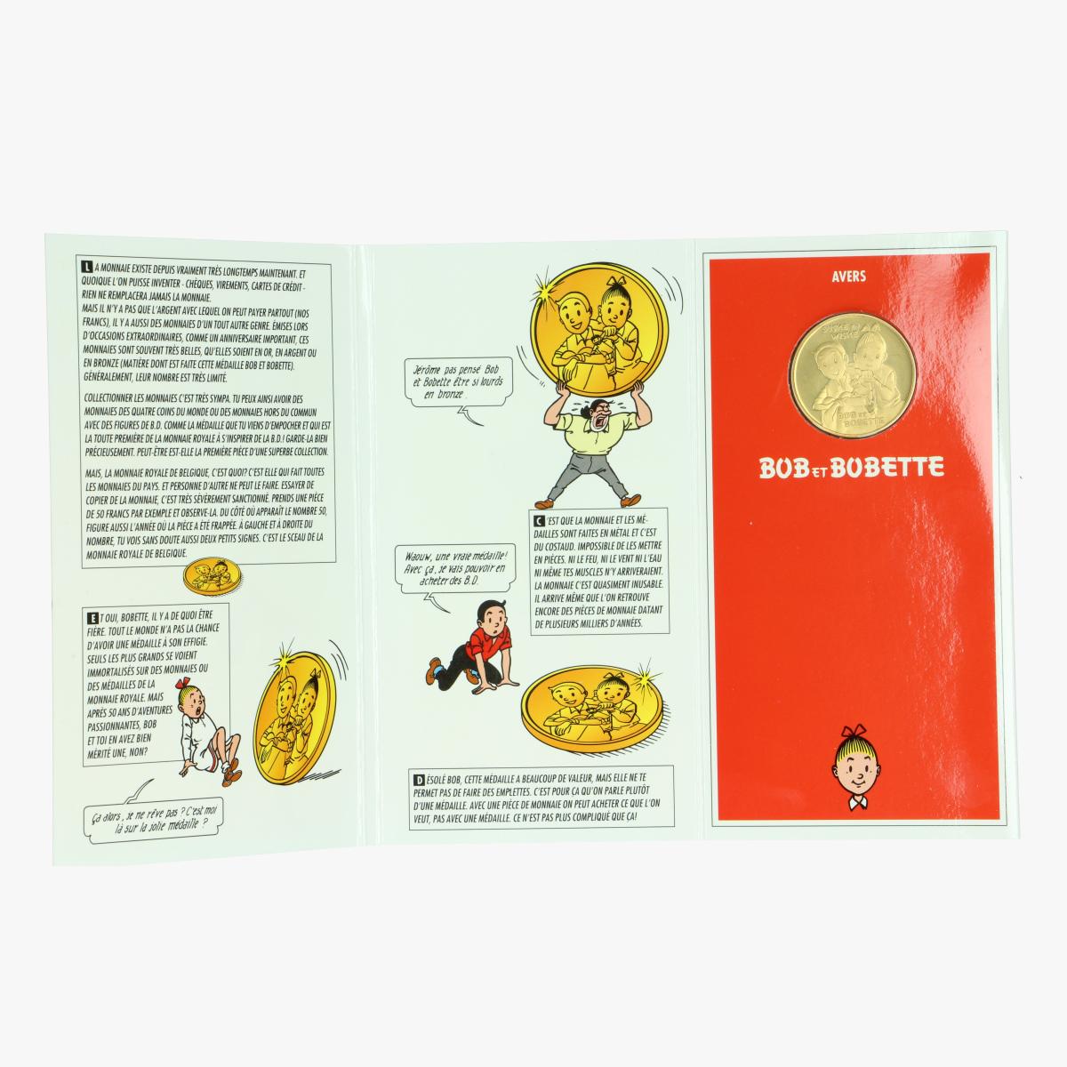Afbeeldingen van Bob et Bobette. Monnaie Royal De Belgique