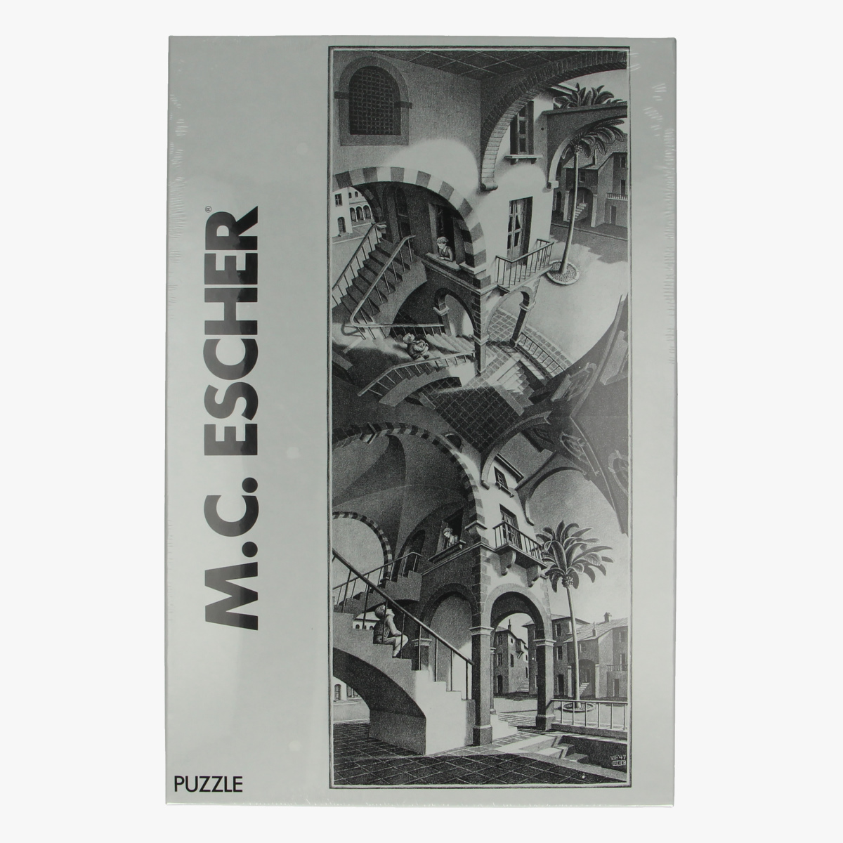 Afbeeldingen van Puzzel M.C. Escher Boven & beneden