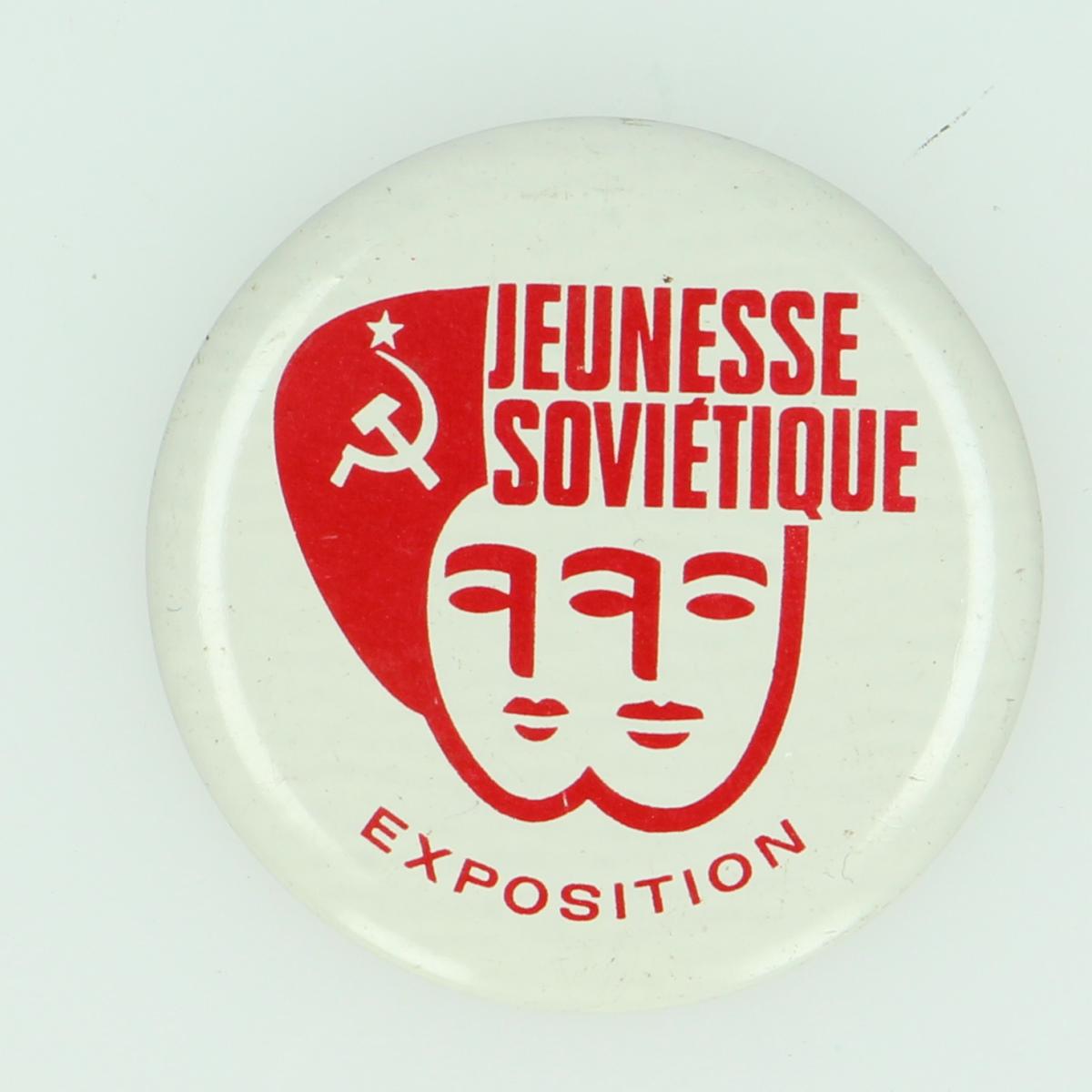 Afbeeldingen van Pins. Jeunesse Sovietique. Exposition