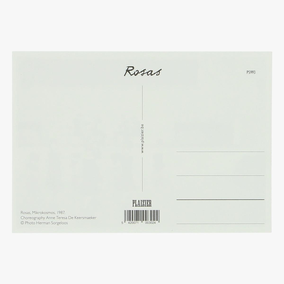 Afbeeldingen van postkaart rosas, Mikrokosmos 1987 repro
