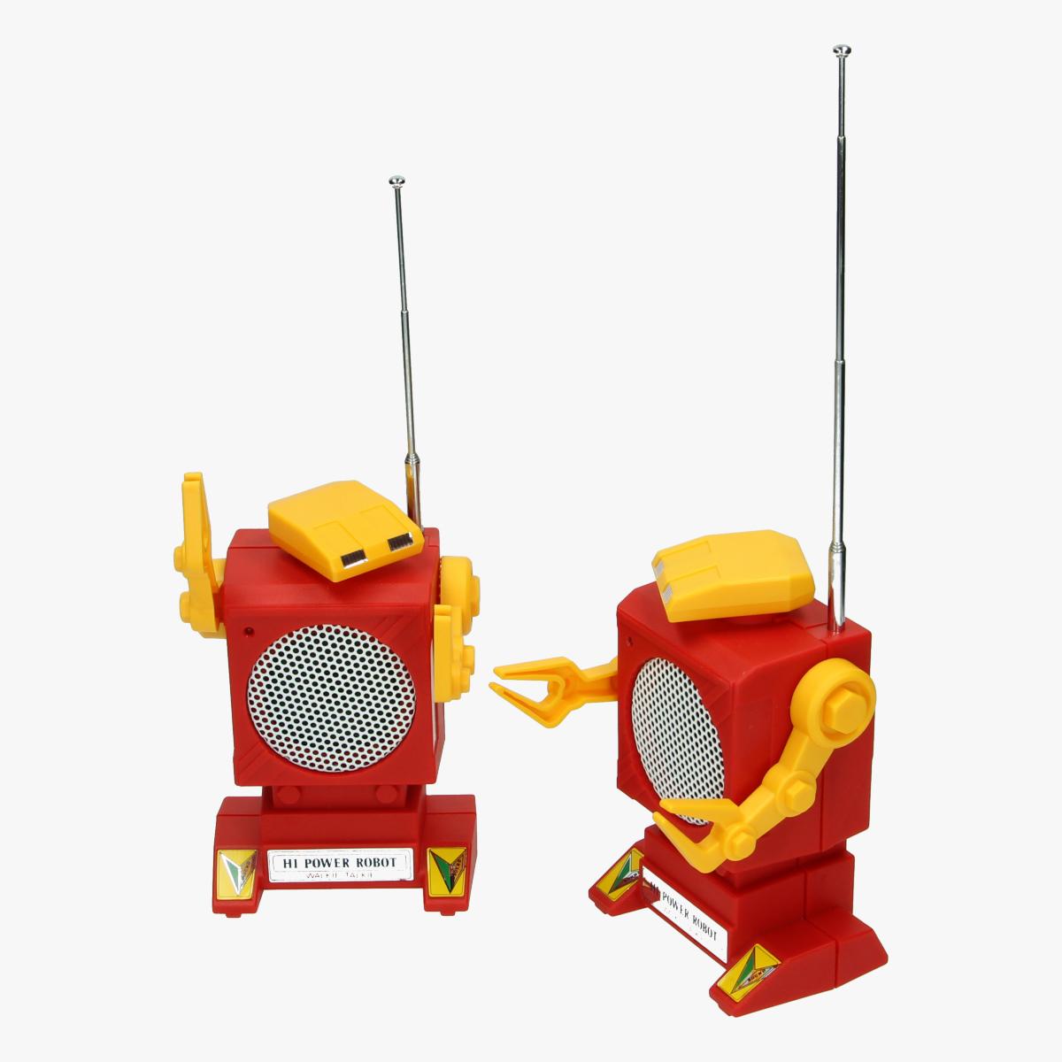 Afbeeldingen van robotic walkie talkie