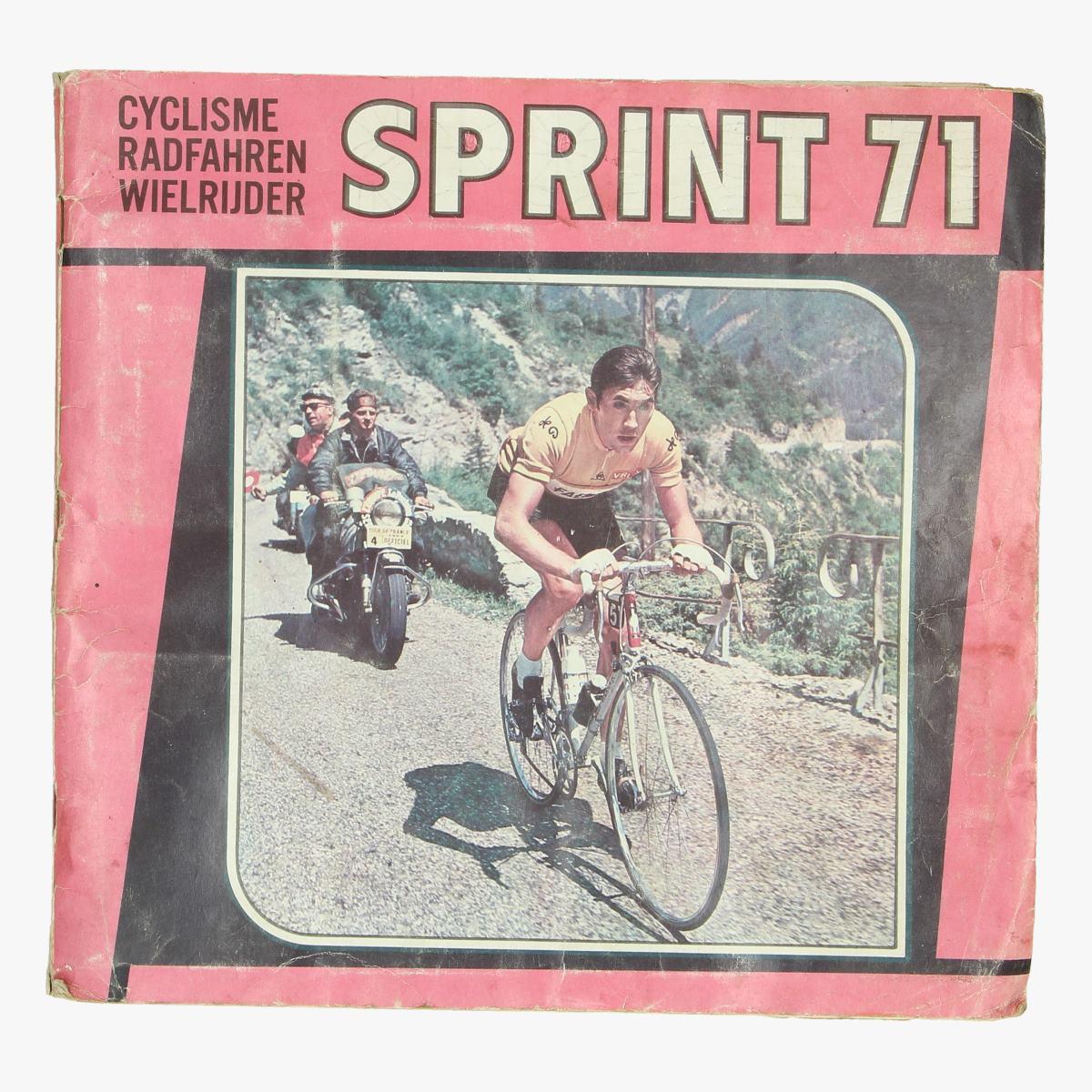 Afbeeldingen van plakboek wielrennen sprint 71
