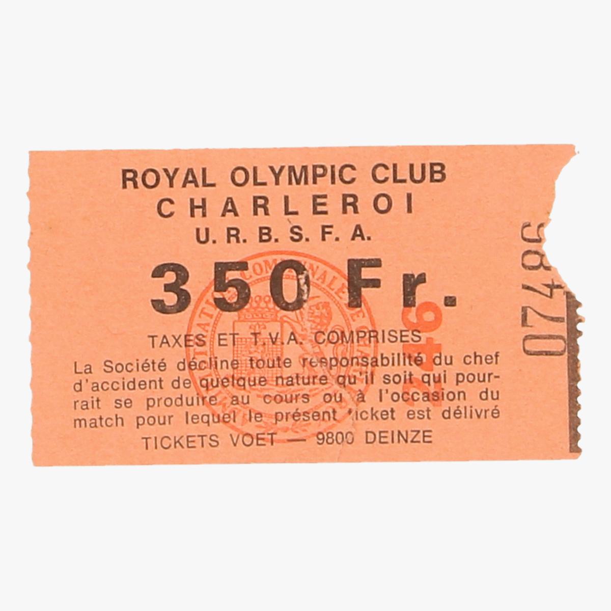 Afbeeldingen van royal olympic club charleroi