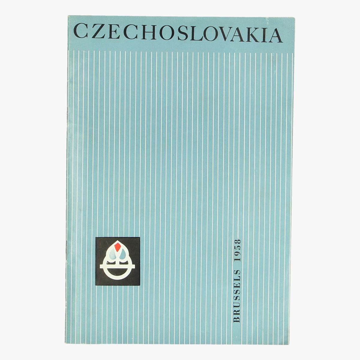 Afbeeldingen van expo 58 czechoslovakia brussels 1958