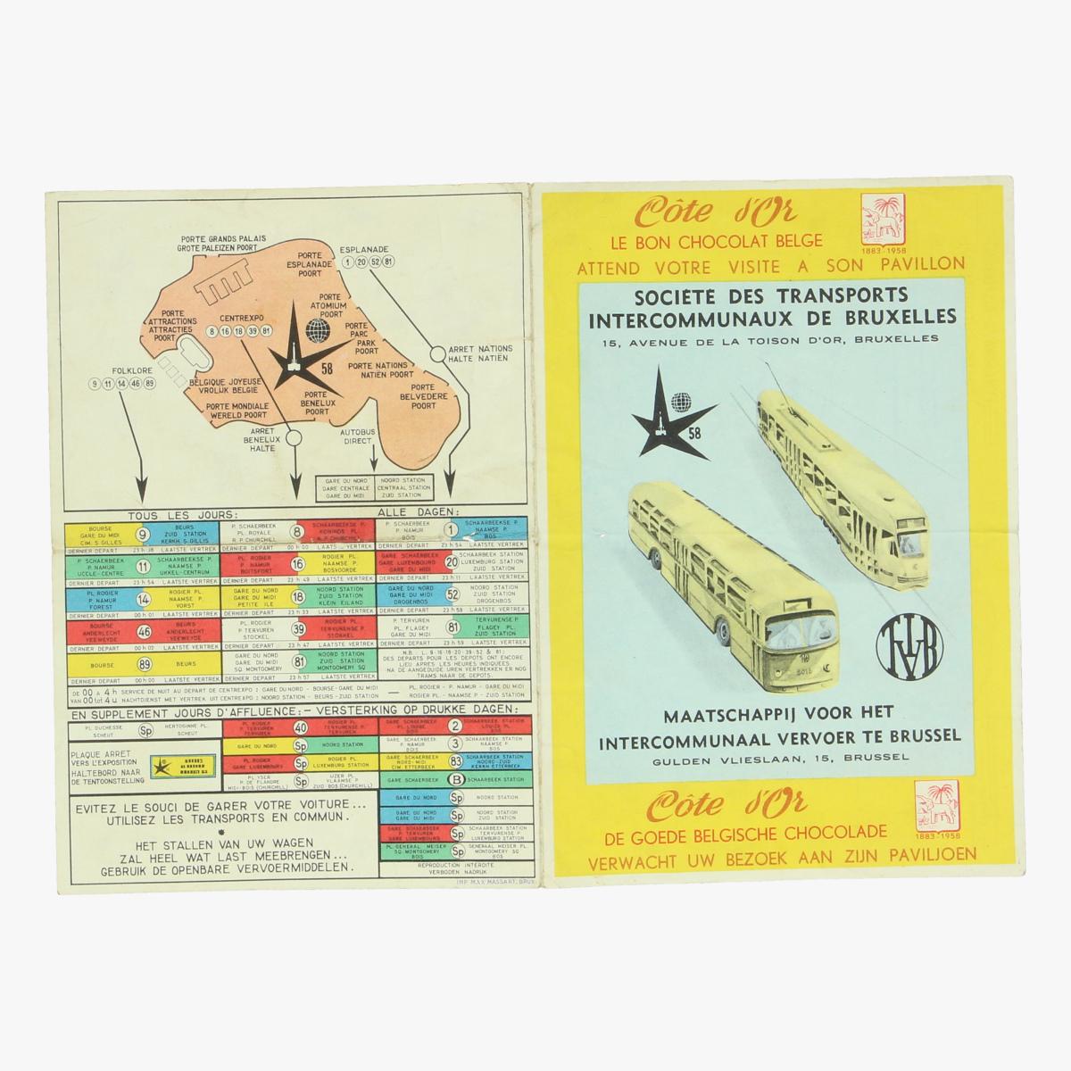 Afbeeldingen van expo 58 cote d'or de goede belgische chocolade verwacht uw bezoek aan zijn paviljoen