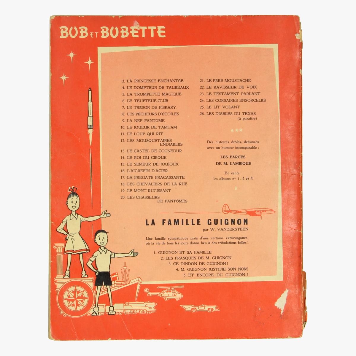 Afbeeldingen van Bob & Bobette Le lit volant