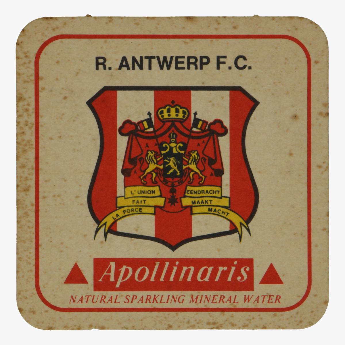 Afbeeldingen van bierkaartje r. Antwerpen f.c apollinaris
