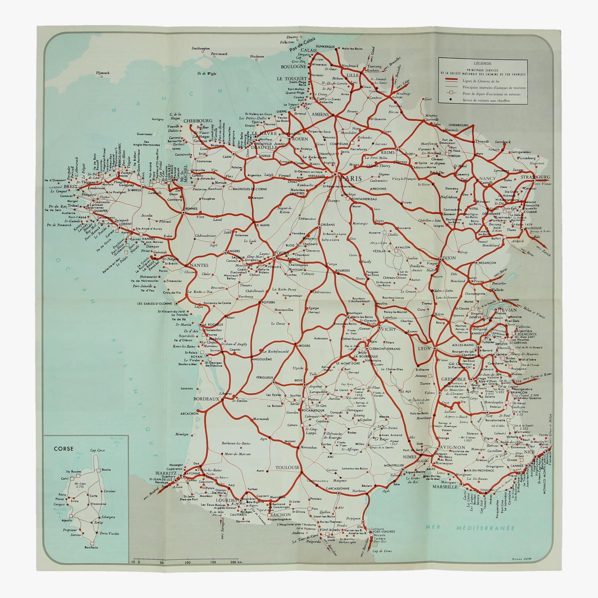 Afbeeldingen van expo  58 folder pour votre voyage en frande société nationale des chemins de fer français