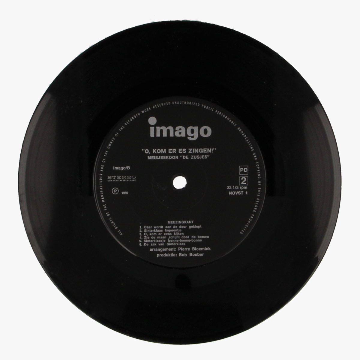 Afbeeldingen van O, kom eens zingen - Imago LP 33 1/3toeren