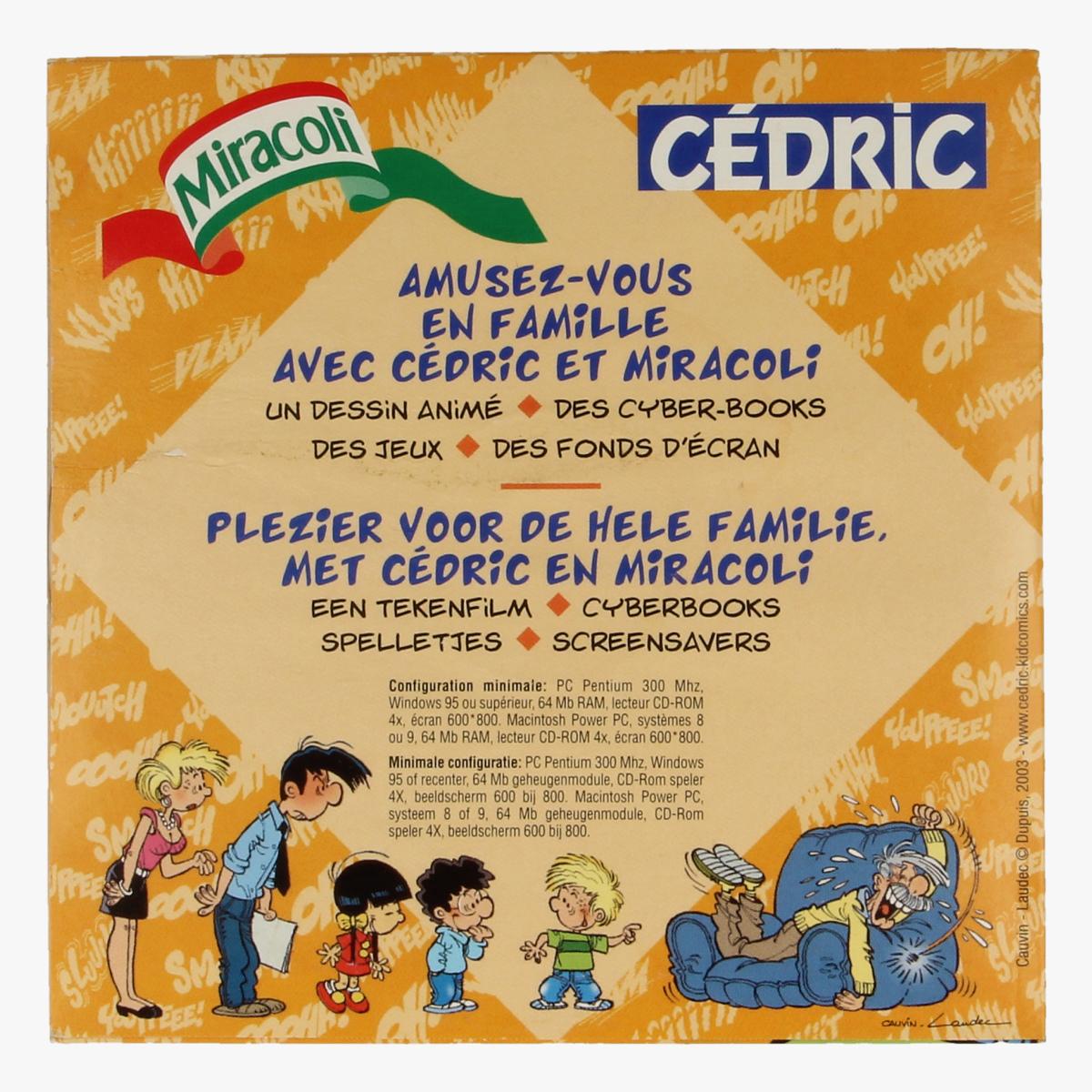 Afbeeldingen van Cédric CD-rom Miracoli
