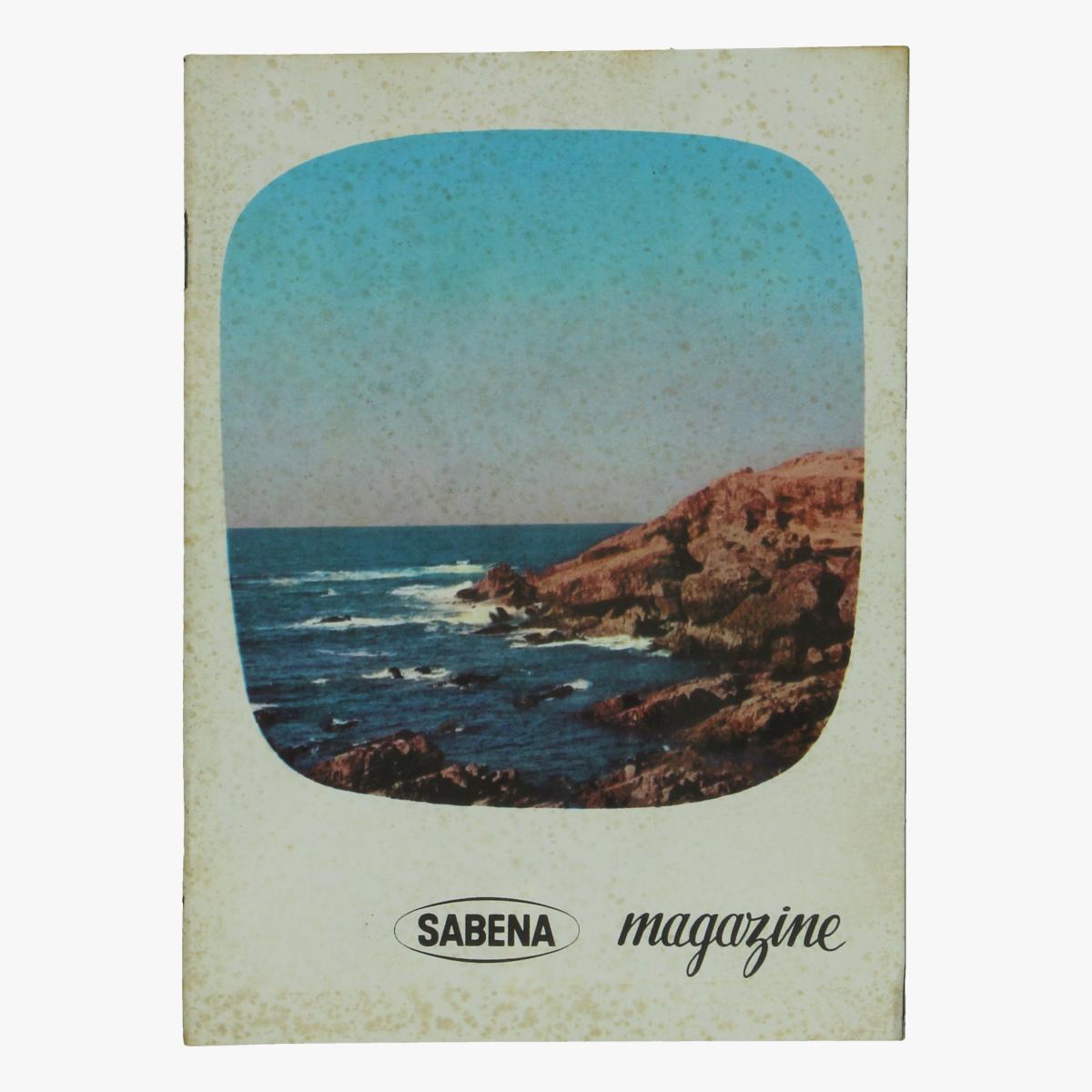 Afbeeldingen van sabena magazine 1960