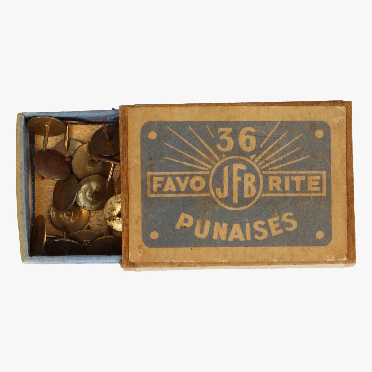Afbeeldingen van oude doosje punaises jfb