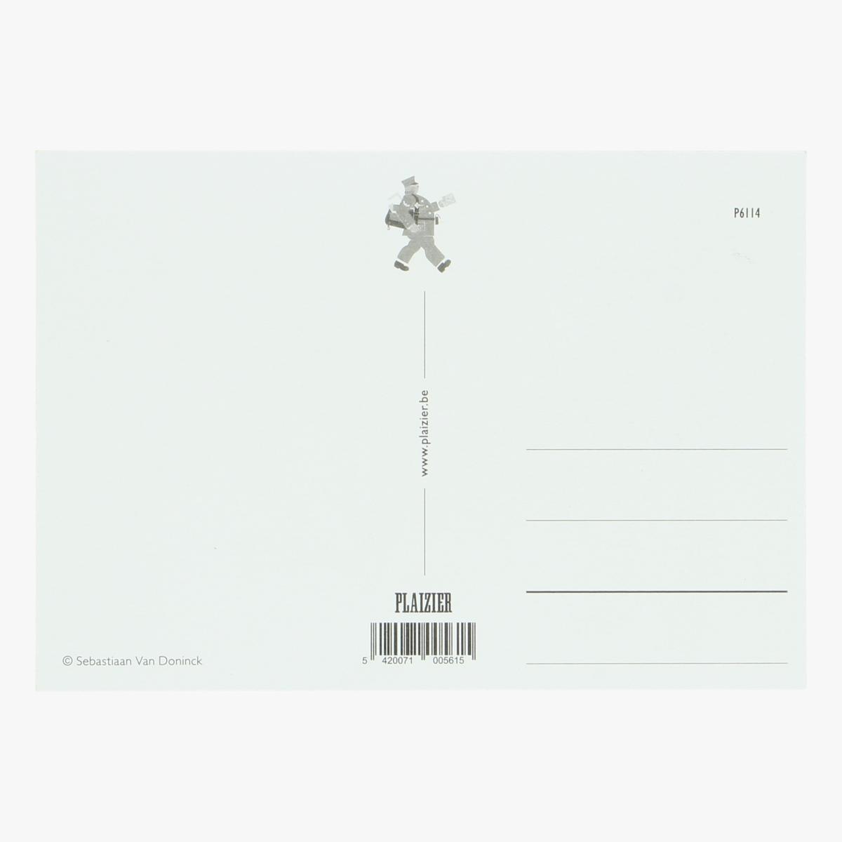 Afbeeldingen van postkaart Sebastiaan Van doninck