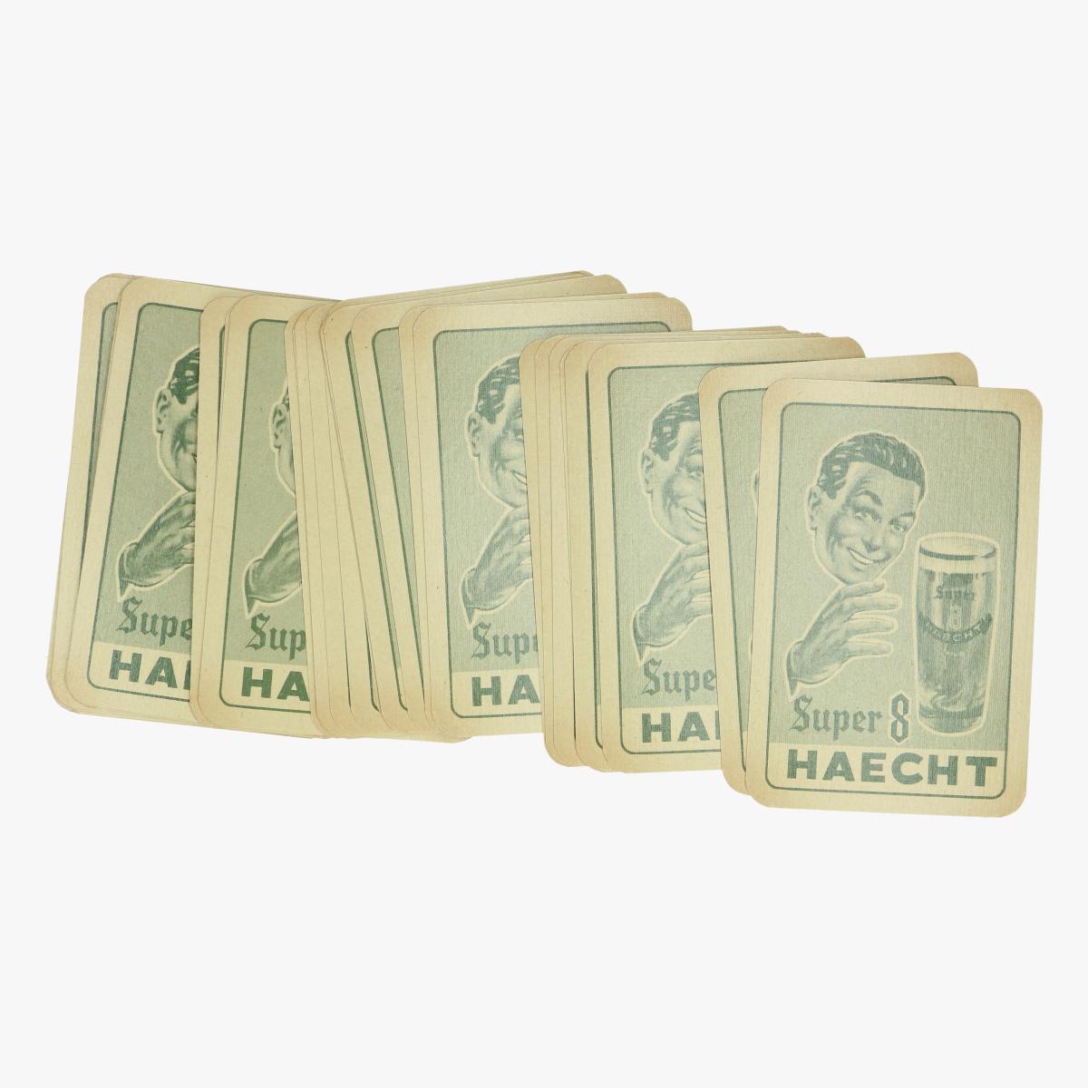 Afbeeldingen van oude speelkaarten super 8  haecht bier