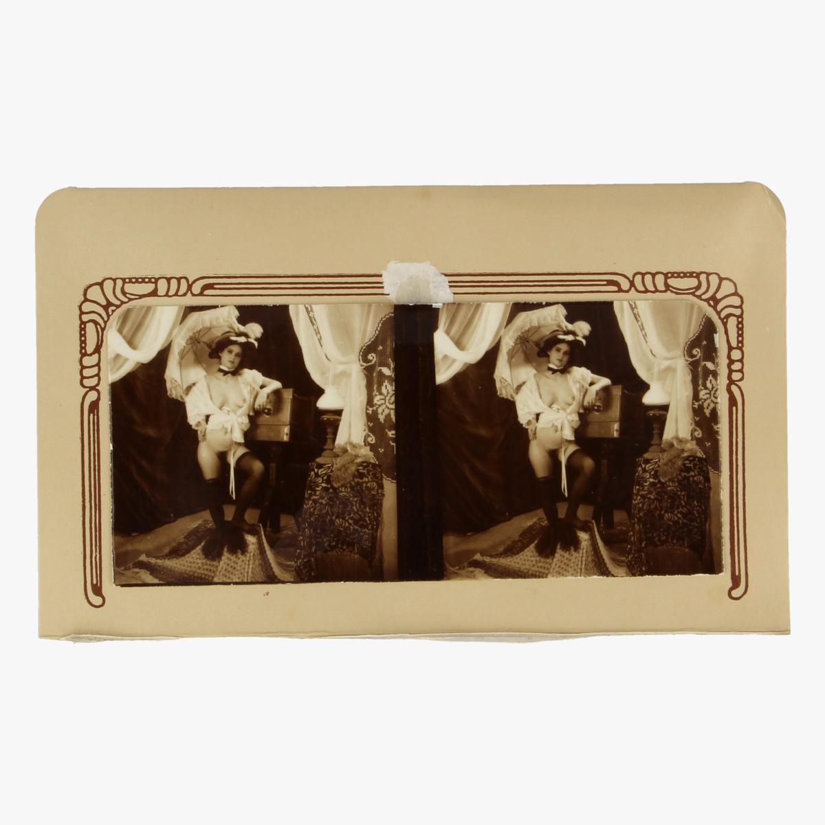 Afbeeldingen van Stereoscoop in papier.