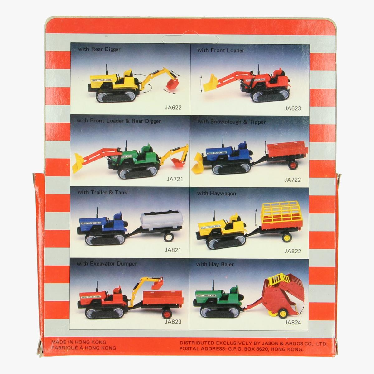 Afbeeldingen van Miniatuur Bulldozer tractor