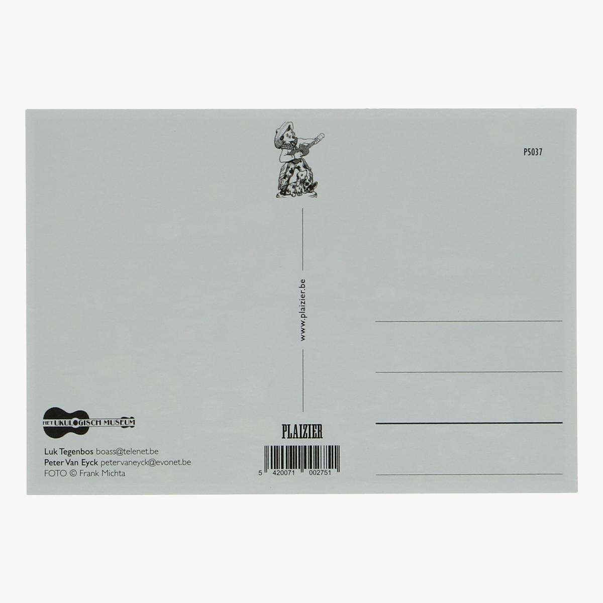 Afbeeldingen van postkaart The Ukulogisch museum repro