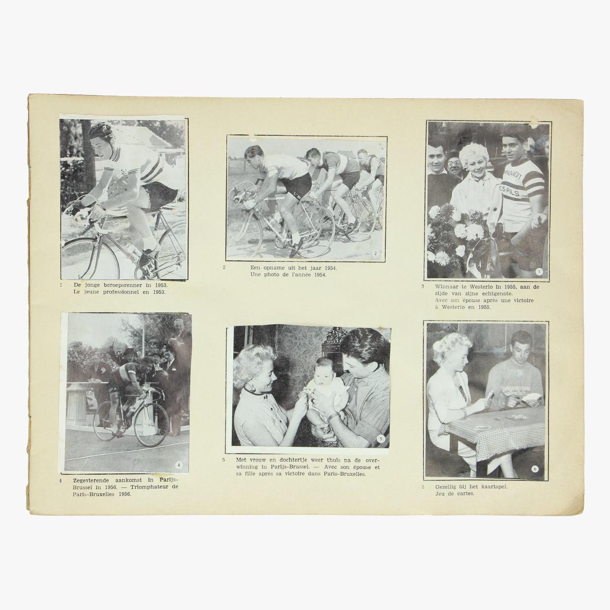Afbeeldingen van Wielrennen: plakeboek album Rik Van Looy