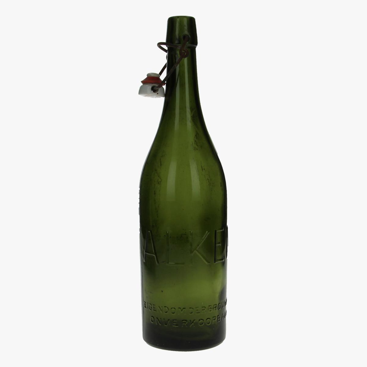 Afbeeldingen van oude fles brouwerij van Alken