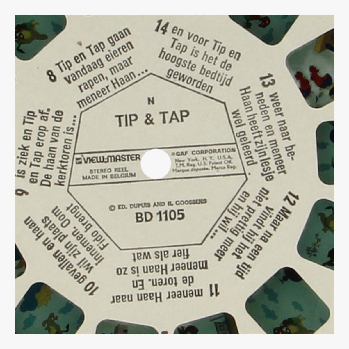 Afbeeldingen van View-Master Tip & Tap. Nr. BD 1105